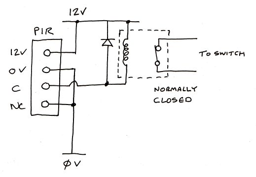 Alarm Pir Wiring Diagram Uk : Honeywell pir sensor wiring diagram