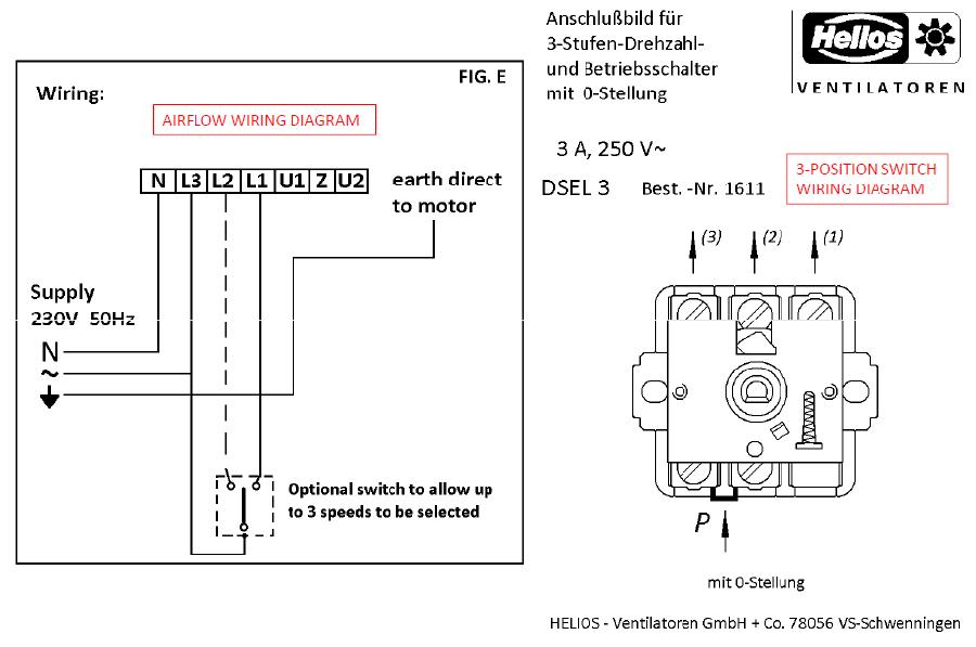 ask the trades 3 position switch wiring problem rh askthetrades co uk kicker l3 15 wiring diagram l wiring diagram color