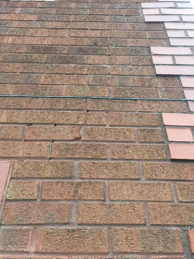 outside brickwork